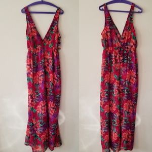 XXI Forever 21 Floral Swim Suit Cover Up